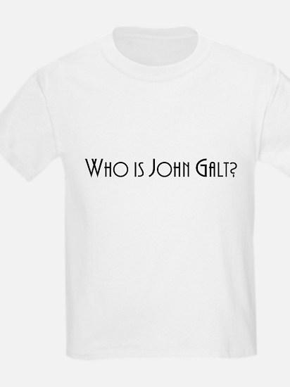 Who is John Galt? Atlas Shrugged T-Shirt
