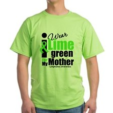I Wear Lime Green For Mother T-Shirt