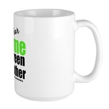I Wear Lime Green For Mother Mug