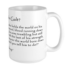 Who is John Galt? Atlas Shrugged Mug