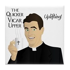 Quicker Vicar Upper Tile Coaster