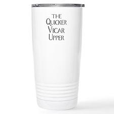 The Quicker Vicar Upper Ceramic Travel Mug