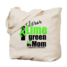 I Wear Lime Green For My Mom Tote Bag