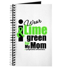 I Wear Lime Green For My Mom Journal