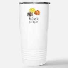Save Vs CHARM Stainless Steel Travel Mug