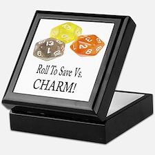 Save Vs CHARM Keepsake Box
