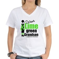 I Wear Lime Green For Grandson Shirt