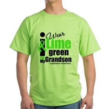 I Wear Lime Green For Grandson T-Shirt