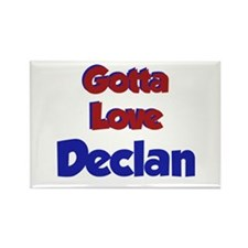 Gotta Love Declan Rectangle Magnet
