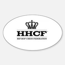 HHCF Official Team Oval Bumper Stickers
