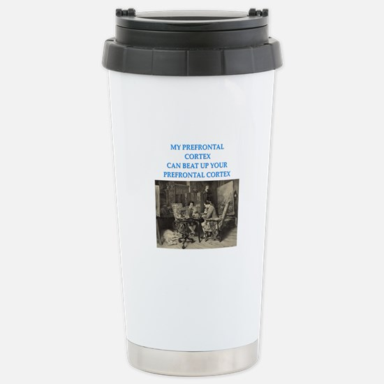 funny chess player game Stainless Steel Travel Mug