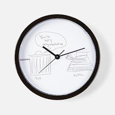 Argumentative Pot Kettle Wall Clock