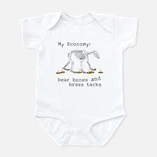 My Economy Bear Bones Infant Bodysuit