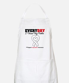 LungCancer Father BBQ Apron