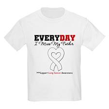 LungCancer Father T-Shirt