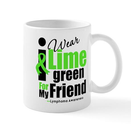 I Wear Lime Green Friend Mug