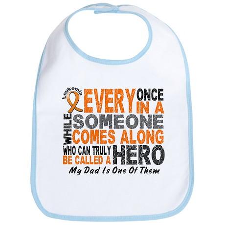 HERO Comes Along 1 Dad LEUKEMIA Bib