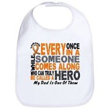 HERO Comes Along 1 Dad LEUKEMIA Bib