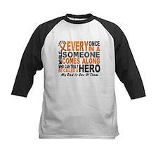 HERO Comes Along 1 Dad LEUKEMIA Tee