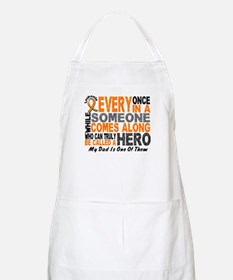 HERO Comes Along 1 Dad LEUKEMIA BBQ Apron