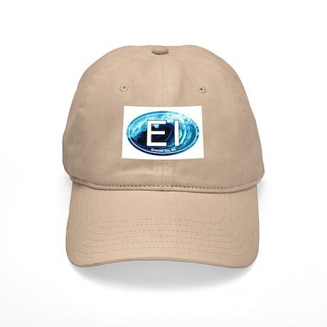 EI Emerald Isle, NC Beach Oval Cap