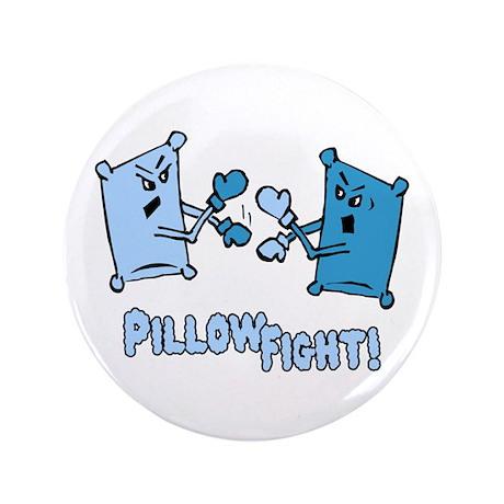 "Pillow Fight 3.5"" Button (100 pack)"