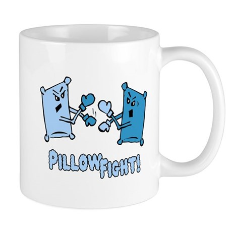 Pillow Fight Mug