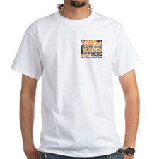 HERO Comes Along 1 Father LEUKEMIA Shirt