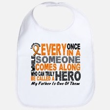 HERO Comes Along 1 Father LEUKEMIA Bib