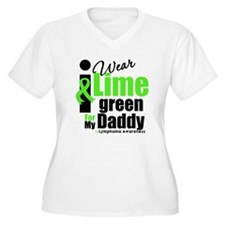 I Wear Lime Green For Daddy T-Shirt