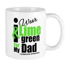 I Wear Lime Green For Dad Mug