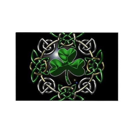 St. Patrick's Day Celtic Knot Rectangle Magnet by ...
