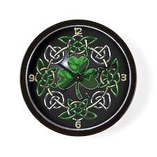 St. Patrick's Day Celtic Knot Wall Clock