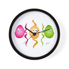Cute Kids fish Wall Clock