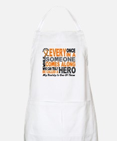 HERO Comes Along 1 Daddy LEUKEMIA BBQ Apron