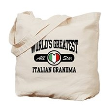 World's Greatest Italian Grandma Tote Bag
