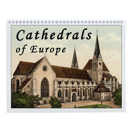Cathedrals of Europe Calendar