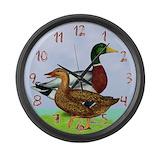 Mallard ducks Giant Clocks