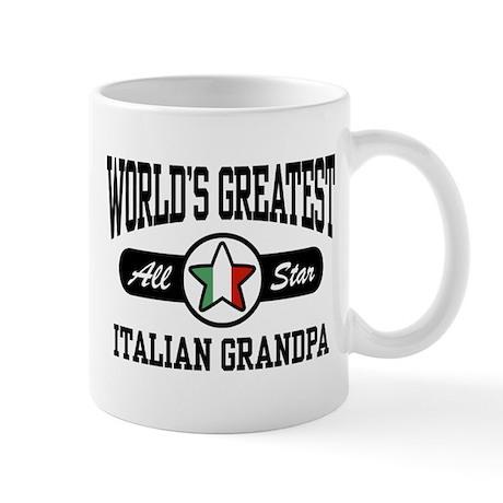 World's Greatest Italian Grandpa Mug