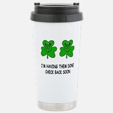Boobies shamrocks Travel Mug
