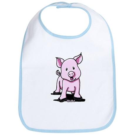 Chatty Pig Bib