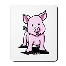 Chatty Pig Mousepad