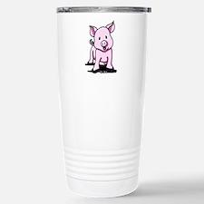 Chatty Pig Stainless Steel Travel Mug