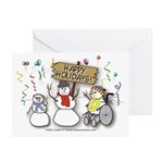 Happy Holidays Diversity Greeting Cards (Pk of 10)