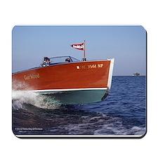 Vintage Boat D1011-2 Mousepad