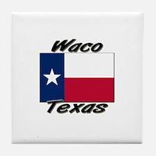 Waco Texas Tile Coaster