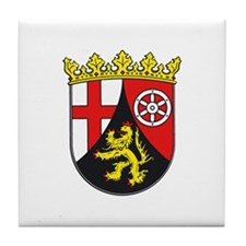Rhineland-Palatinate Tile Coaster