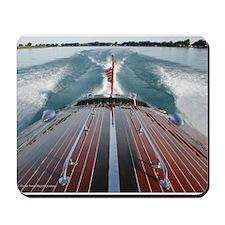 Wooden Boat D1121-005 Mousepad