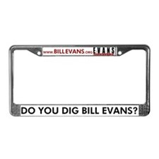 Cute Evan License Plate Frame