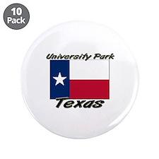 """University Park Texas 3.5"""" Button (10 pack)"""